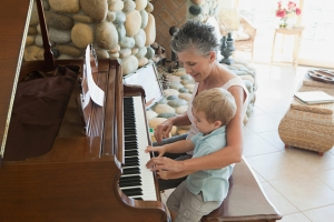 Grandma-and-Boy-at-Piano
